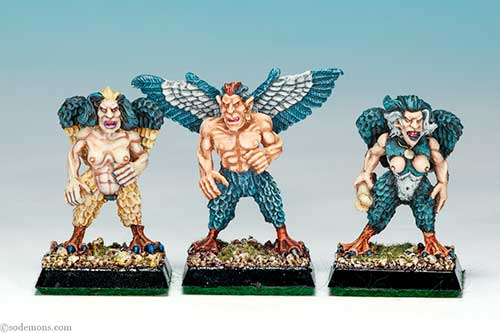 Bob Olley's Harpies - Ron
